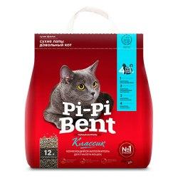 Наполнитель Pi-Pi-Bent КЛАССИК, бентонит, 3 кг (7 л)