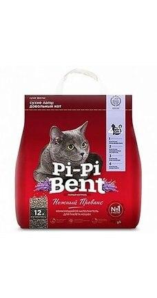 """Наполнитель Pi-Pi-Bent """"Нежный прованс"""" бентонит, 5 кг (12 л)"""