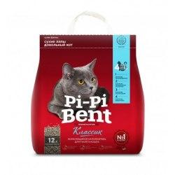 Наполнитель Pi-Pi-Bent КЛАССИК, бентонит, 5 кг (12 л)