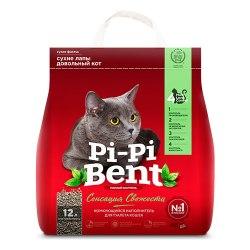 Наполнитель Pi-Pi-Bent СЕНСАЦИЯ СВЕЖЕСТИ, бентонит, 5 кг (12 л)