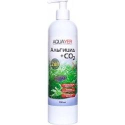 Аквапрепарат AQUAYER Альгицид+СО2, (против зеленых водорослей и черной бороды), 100 мл