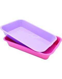 Туалет Lucky 39*26,5*6,5 см, розовый