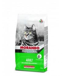Сухой корм Morando Professional для кошек, микс с овощами, НА РАЗВЕС 100г