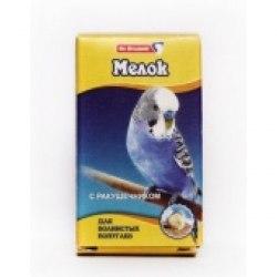 Мел Dr.Hvostoff для волнистых попугаев с ракушечником, 16г
