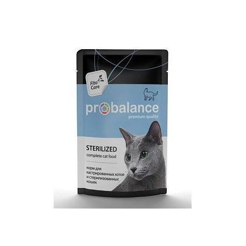 Консерва ProBalance для стерилизованных кошек, 85г