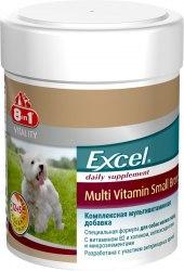 Мультивитаминная добавка 8 in 1 Exsel для собак мелких пород, 1 таблетка