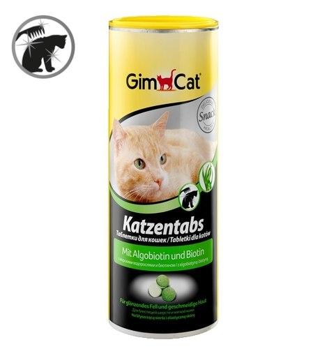 Лакомство GIMCAT Katzentabs (с морскими водорослями и биотином), 1 таб.