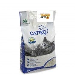 Наполнитель Catico с ароматом детской пудры, 15 кг