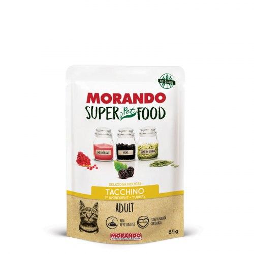 Мусс Morando Super Pet Food Adult c индейкой, 85г