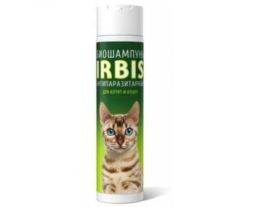 БиоШампунь Irbis Forte антипаразитарный для кошек и котят, 250мл