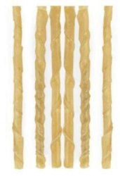 Лакомство For Dogs палочки крученые жилованные 12,5 см (диам.7мм)