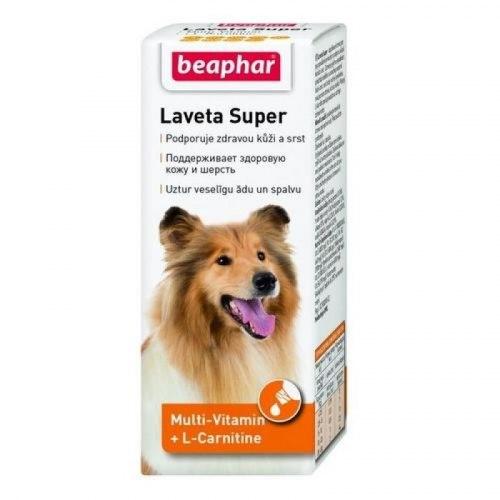 Кормовая добавка Beaphar Laveta Super,50мл