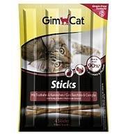 Беззерновые палочки GIMСАT для кошек с домашней птицей, 4 шт