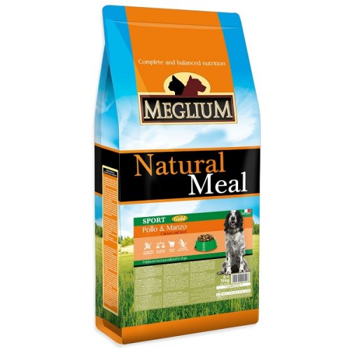 Сухой корм Meglium Sport Gold 15 кг