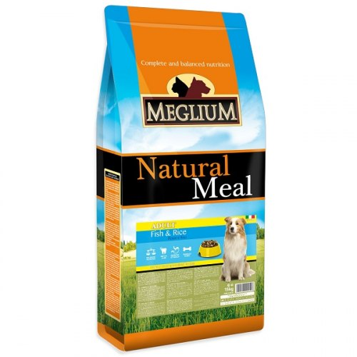 Сухой корм Meglium Sensible Fish & Rice 15кг