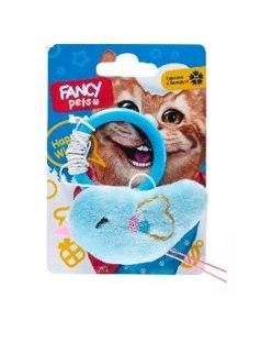 Игрушка FANCY PETS Дразнилка с птичкой, с кольом на палец, с гремелкой, 8см