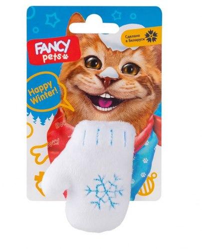 Игрушка FANCY PETS Варежка с гремелкой, 7 см