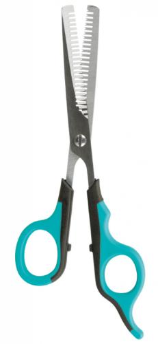 Ножницы TRIXIE филировачные для стрижки, двухсторонние 18 см