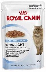 Влажный корм В НАЛИЧИИ Royal Canin Ultra Light в желе 1шт/85г