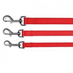 """Поводок в Наличии TRIXIE для собак """"Classic"""",(M-L), 1,00 м/ 20 мм, черный (красный)"""
