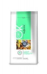 Сухой корм OK Light Sterility with Turkey (С индейкой), 12,5 кг