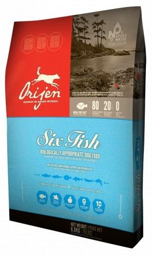 Сухой корм ORIJEN 6 FISH 11,4 кг