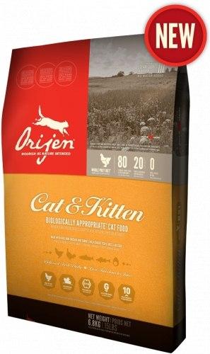Сухой корм ORIJEN CAT & KITTEN 17 кг