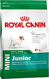 Сухой корм Royal Canin MINI JUNIOR - 0,8 кг, для щенков