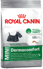Сухой корм Royal Canin MINI DERMACOMFORT - 0,8 кг