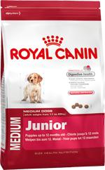 Сухой корм Royal Canin MEDIUM JUNIOR - 4 кг, для щенков