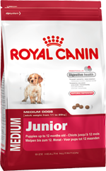 Сухой корм Royal Canin MEDIUM JUNIOR - 15 кг