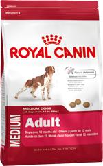 Сухой корм Royal Canin MEDIUM ADULT - 4 кг