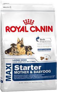 Сухой корм Royal Canin MAXI STARTER - 15 кг, для щенков