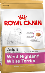 Сухой корм Royal Canin WEST HIGHLAND WHITE TERRIER ADULT - 3 кг