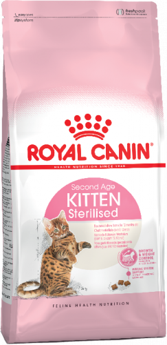 Сухой корм Royal Canin KITTEN STERILISED - 0,4 кг