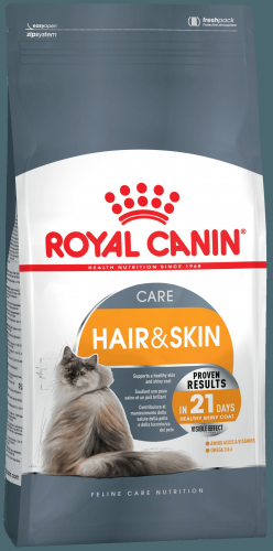 Сухой корм Royal Canin HAIR & SKIN - 10 кг