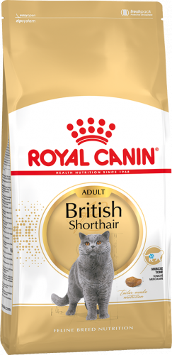 Сухой корм Royal Canin BRITISH SHORTHAIR - 4 кг