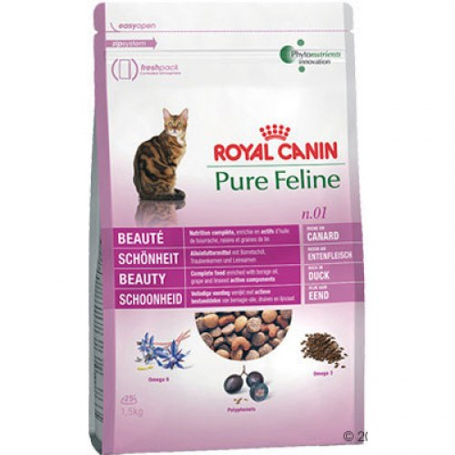 Сухой корм Royal Canin PURE FELINE BEAUTY - 1,5 кг