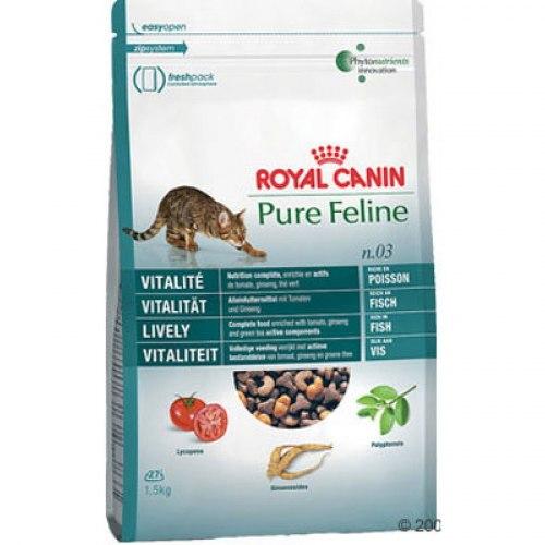 Сухой корм В НАЛИЧИИ Royal Canin PURE FELINE VITALITY - 0,3 кг