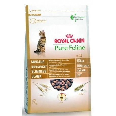 Сухой корм Royal Canin PURE FELINE SLIMNESS - 0,3 кг