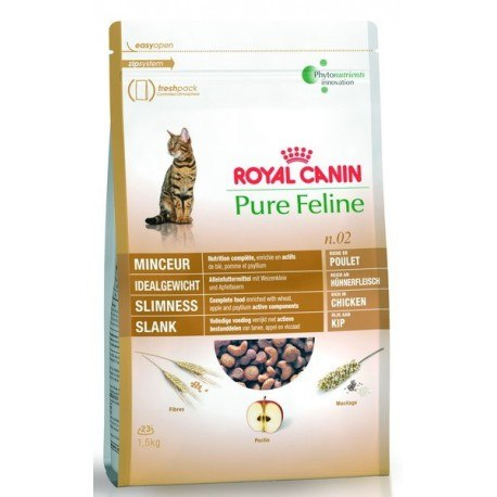 Сухой корм Royal Canin PURE FELINE SLIMNESS - 1,5 кг