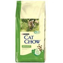 Сухой корм PURINA Cat Chow для взрослых кошек (кролик / печень) - 15 кг