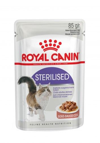 Консерва Royal Canin для стерелизованных кошек в желе, 1шт/85г