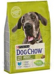 Сухой корм PURINA Dog Chow LARGE BREED ADULT с Индейкой - 14 кг