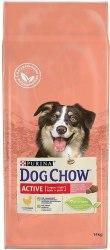 Сухой корм PURINA Dog Chow Active ADULT с курицей - 14 кг