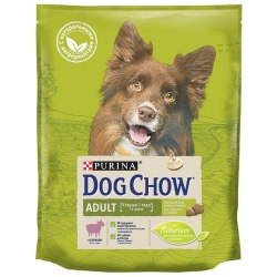 Сухой корм В НАЛИЧИИ PURINA Dog Chow ADULT с ягненком - 14 кг