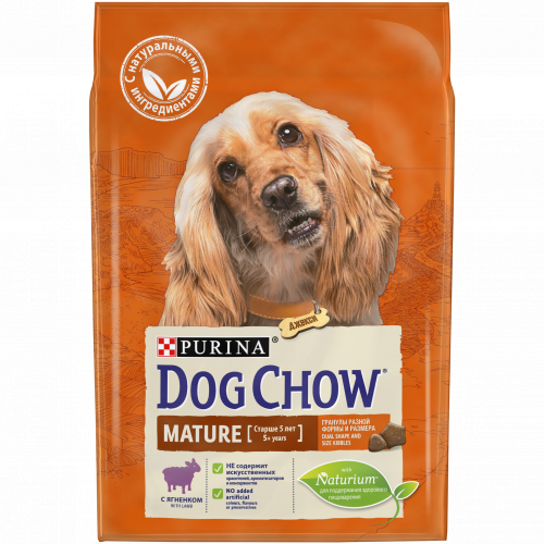Сухой корм Dog Chow MATURE ADULT с ягненком - 14 кг
