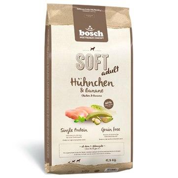 Сухой корм Bosch Софт+ Курица с бананом 1 кг