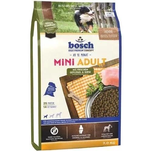 Сухой корм Bosch Мини Эдалт птица со спельтой- 3 кг