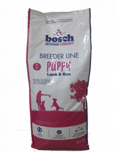 Сухой корм Bosch Бридер Паппи с ягненком 20 кг